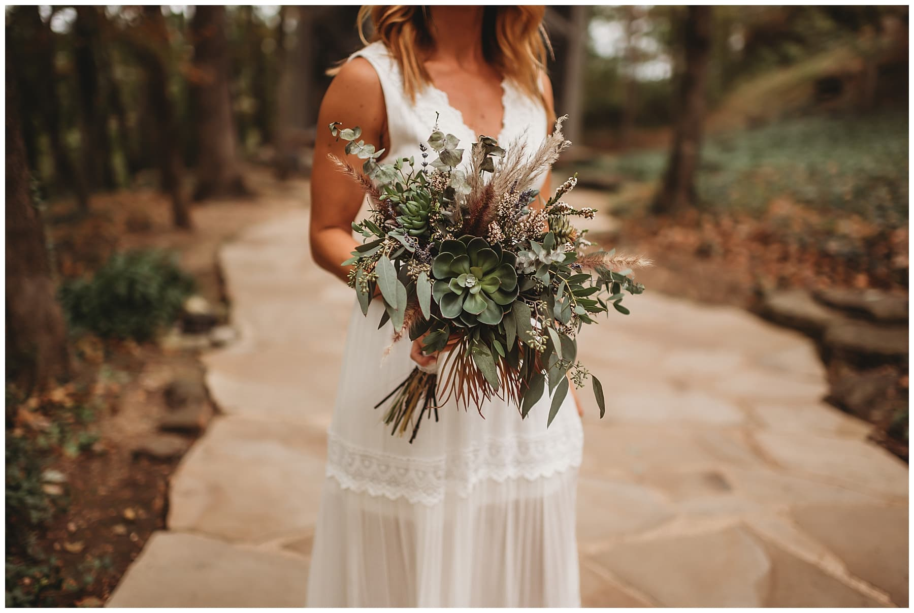 elopement floral bouquet