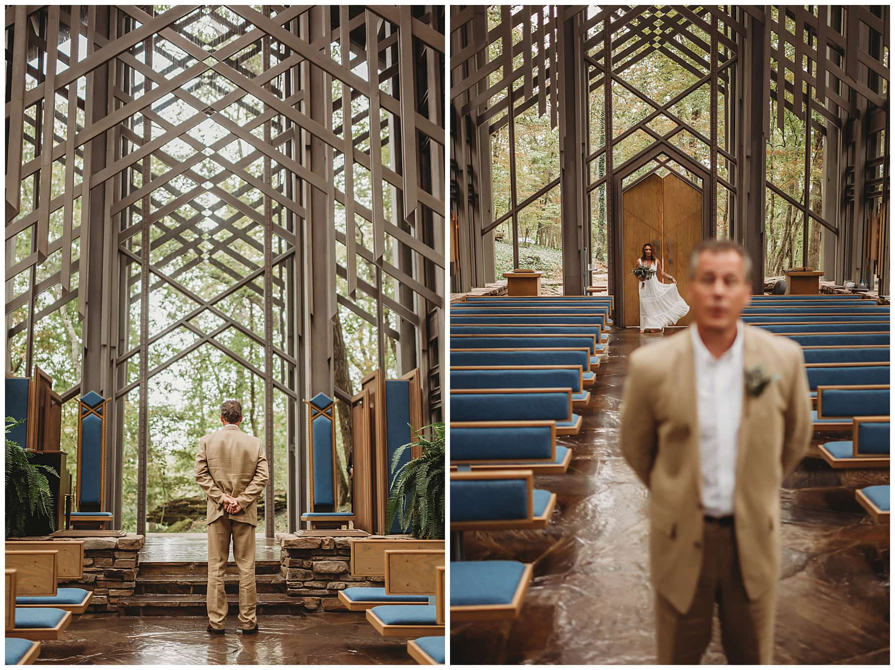 first look at Thorncrown Chapel