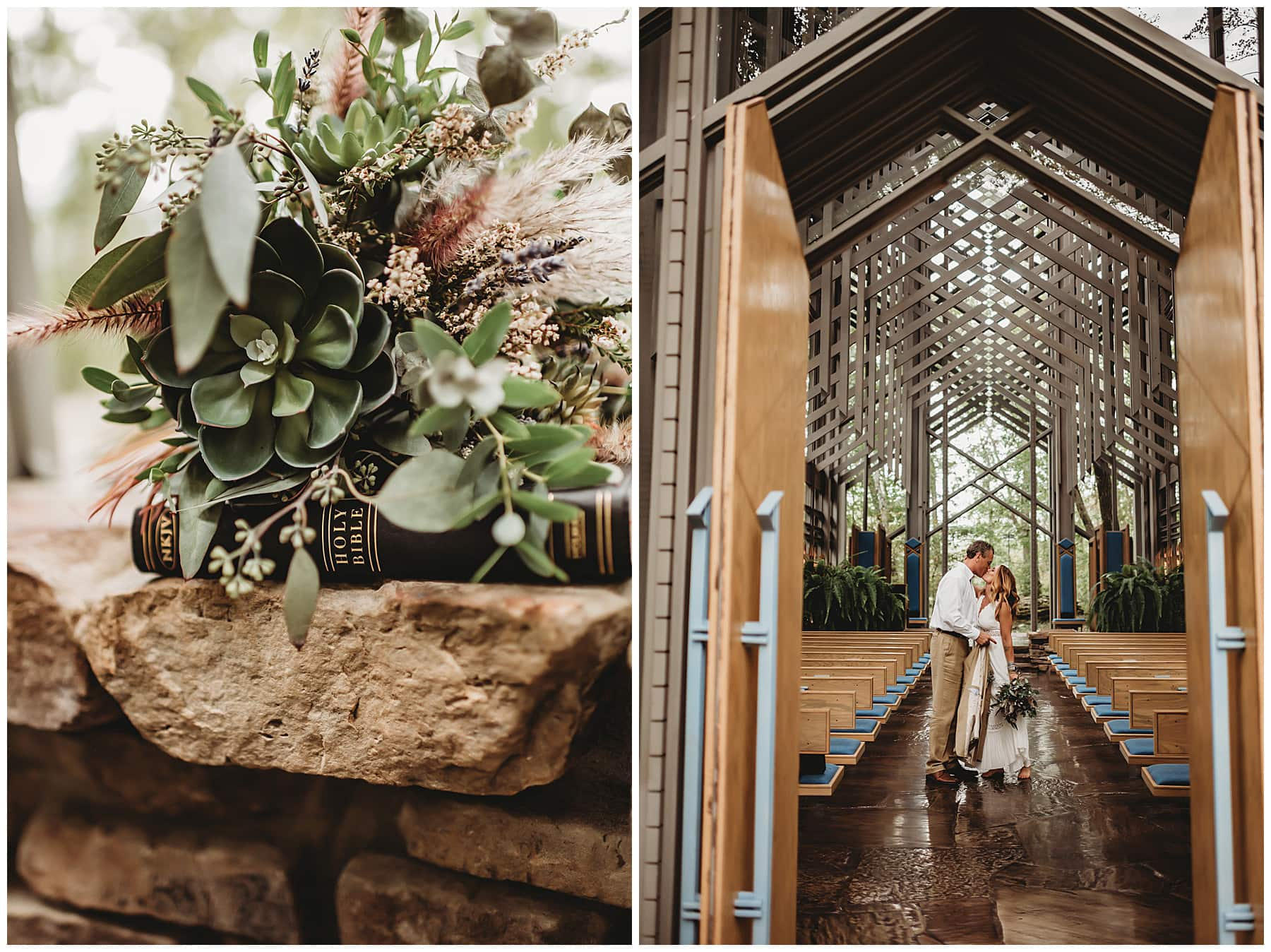 Thorncrown Chapel Elopement